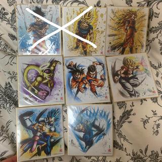 ドラゴンボール(ドラゴンボール)のドラゴンボール 色紙Art 8枚セット(キャラクターグッズ)