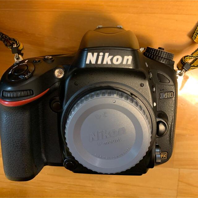 Nikon(ニコン)のNikonD610 キタムラA品 スマホ/家電/カメラのカメラ(デジタル一眼)の商品写真