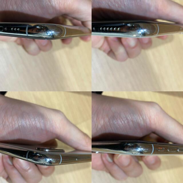 Apple(アップル)のiPhone xs 256GB シルバー au版 SIMロック解除済 スマホ/家電/カメラのスマートフォン/携帯電話(スマートフォン本体)の商品写真