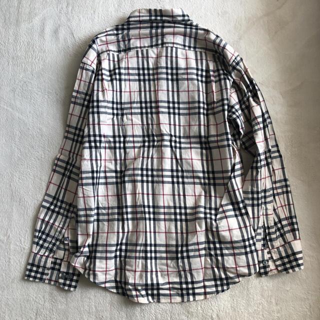 BURBERRY(バーバリー)のBurberry バーバリー古着 ビンテージ長袖チェックシャツ ネルシャツ メンズのトップス(シャツ)の商品写真