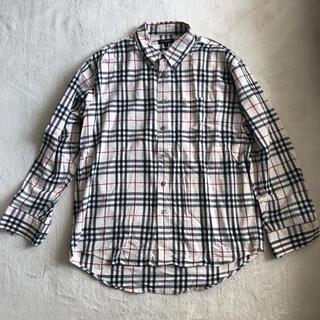 バーバリー(BURBERRY)のBurberry バーバリー古着 ビンテージ長袖チェックシャツ ネルシャツ(シャツ)