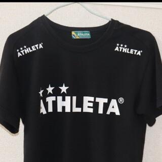 アスレタ(ATHLETA)の☆ATHLETA メンズ Tシャツ(S) ブラック☆(Tシャツ/カットソー(半袖/袖なし))