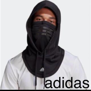 adidas - 【未開封新品】アディダス  フェイスカバー ネックウォーマー フード ブラック