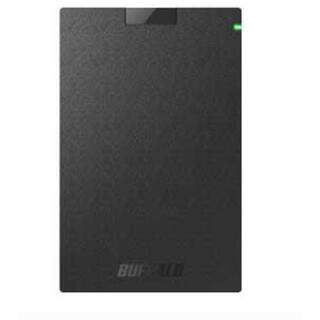 バッファロー(Buffalo)の新品 SSD外付け HDD SSD-PG480U3-B/NL バッファロー(PC周辺機器)