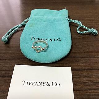 ティファニー(Tiffany & Co.)のティファニー TIFFANY オープンハート 指輪 リング 7号(リング(指輪))