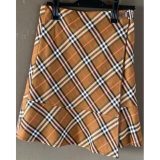 バーバリーブラックレーベル(BURBERRY BLACK LABEL)のBURBERRY☆ウールスカート(ひざ丈スカート)