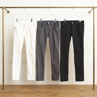 アンユーズド(UNUSED)のUNUSED 10oz denim stretch slim pants 1(デニム/ジーンズ)