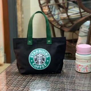 Starbucks Coffee - スターバックス ミニトートバッグ(ブラック)