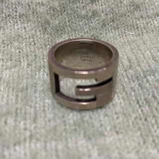 Gucci - グッチ ブランデッドリング  Gリング