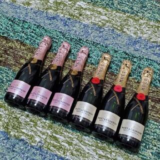 モエエシャンドン(MOËT & CHANDON)のモエシャンドン(375ml)×6本(シャンパン/スパークリングワイン)