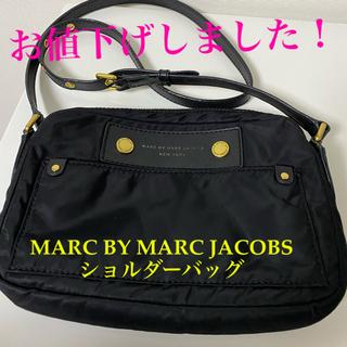 マークバイマークジェイコブス(MARC BY MARC JACOBS)の美品!MARC BY MARCJACOBS ショルダーバッグ 黒(ショルダーバッグ)