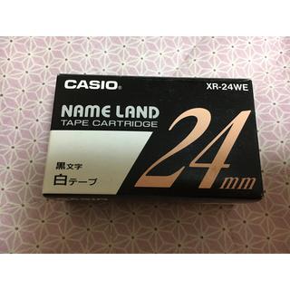 カシオ(CASIO)の《カシオ ネームランド》テープ24ミリ (オフィス用品一般)