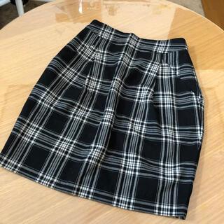 ジーナシス(JEANASIS)のJEANASIS♡チェックタイトスカート(ミニスカート)