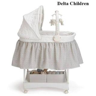 Delta Children新生児から使えるベビーベットバシネット