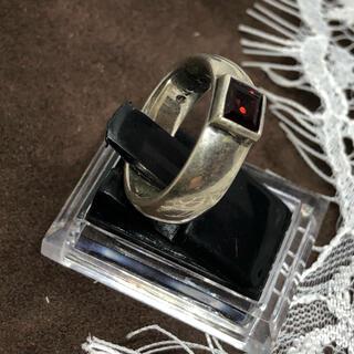 SILVER925甲丸 11号リング シルバー925 指輪 宝石リング ギフト(リング(指輪))