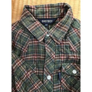 イーストボーイ(EASTBOY)のイーストボーイ ネルシャツ 130cm(Tシャツ/カットソー)