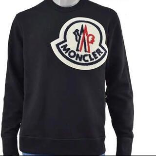 MONCLER - ★新品未使用★ MONCLER ビッグワッペン スウェット トレーナー Tシャツ
