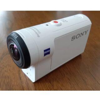 SONY - SONY HDR-AS300 デジタルHDビデオカメラ〔室内試用のみ ほぼ新品〕
