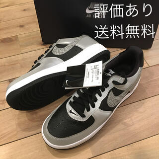 NIKE - 【27㎝】NIKE AIR FORCE 1 SILVER SNAKE 黒蛇