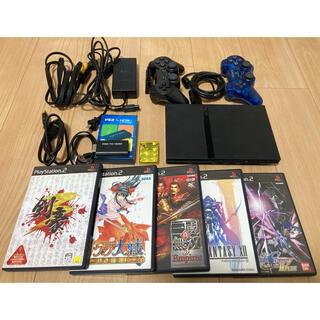 プレイステーション2(PlayStation2)のPS2本体薄型 ソフトセット+おまけ SCPH-70000(家庭用ゲーム機本体)
