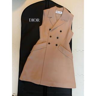 Christian Dior - Christian Dior ジレ ワンピース