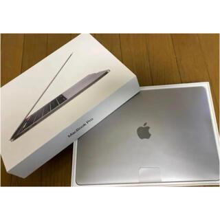 アップル(Apple)の美品APPLE MacBook Pro 13インチ 2019 カバーフィルム付き(ノートPC)
