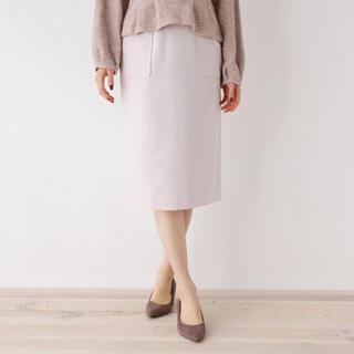 オペークドットクリップ(OPAQUE.CLIP)のバックスリットタイトスカート(ひざ丈スカート)