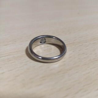 指輪 リング 23号 天然 ダイヤモンド プラチナ pt 900(リング(指輪))