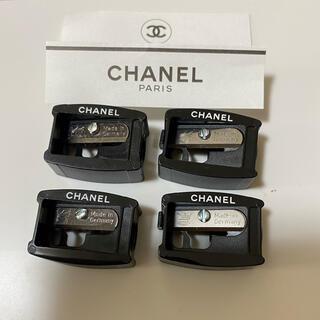 CHANEL - CHANEL 鉛筆削り4セット