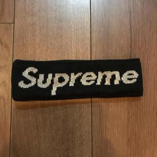 Supreme - Supreme ヘアバンド ヘアバン シュプリーム 黒 ニューエラ