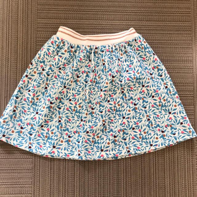 PETIT BATEAU(プチバトー)のプチバトー 木の実スカート キッズ/ベビー/マタニティのキッズ服女の子用(90cm~)(スカート)の商品写真