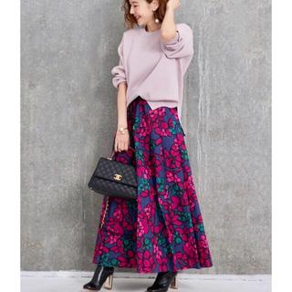 OBLI 花柄スカート