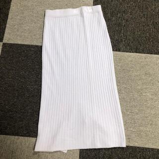 イヴォン(YVON)の ロングスカート プリーツスカート 毛100%(ロングスカート)