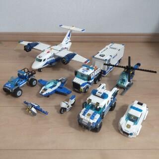 レゴ(Lego)のレゴシティ ポリス飛行機・車両 9点セット(その他)