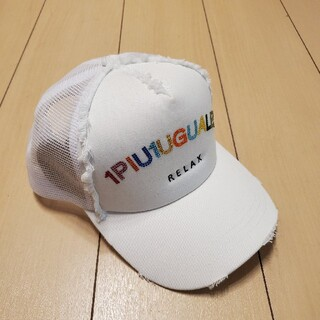 ウノピゥウノウグァーレトレ(1piu1uguale3)の⭐1PIU1UGUALE3/ウノピュウノ⭐新品 B.Bメッシュキャップ (キャップ)