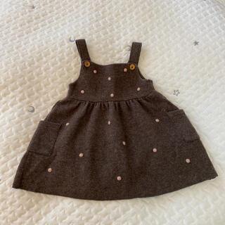 ZARA KIDS - ZARA BABY ドットスカート 12-18m
