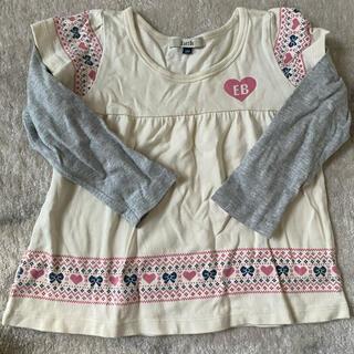 イーストボーイ(EASTBOY)のイーストボーイ キッズ 長袖Tシャツ ロンT 100(Tシャツ/カットソー)