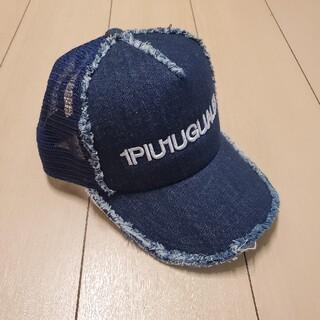 ウノピゥウノウグァーレトレ(1piu1uguale3)の⭐1PIU1UGUALE3/ウノピュウノ⭐新品 B.Bメッシュキャップ ネイビー(キャップ)