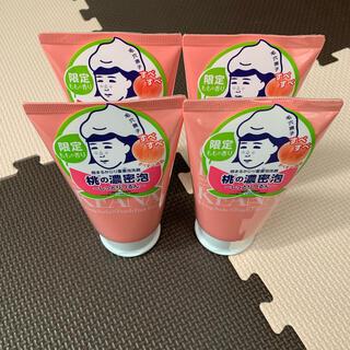 石澤研究所 - 毛穴撫子 桃まるかじり重曹泡洗顔 4個セット