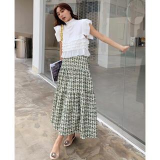 ZARA - 人気商品⭐︎BIRTHDAY BASH ツイードロングスカート