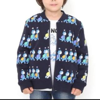 グラニフ(Design Tshirts Store graniph)の新品タグ付き!グラニフ ×11ぴきのねこリバーシブルブルゾン 定価6500円以上(ジャケット/上着)
