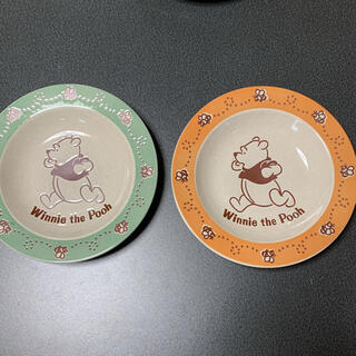 ディズニー(Disney)のプーさん カレー皿 スパゲティー皿 2枚(食器)