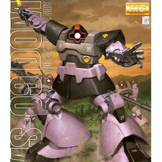 バンダイ(BANDAI)のガンプラ割対象【新品未開封】MG 1/100 機動戦士ガンダム ドム(模型/プラモデル)