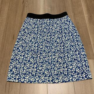 花柄 スカート サイズM(ひざ丈スカート)