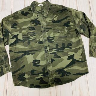 GYDA - GYDA カモフラミリタリーシャツ