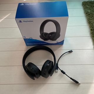プレイステーション(PlayStation)のプレイステーション ワイヤレスヘッドセット(ヘッドフォン/イヤフォン)