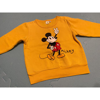 ディズニー(Disney)のトレーナー(ミッキー) 90サイズ(その他)