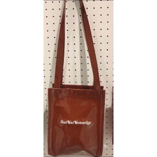 GDC x see you yesterday BAG  ブラウン