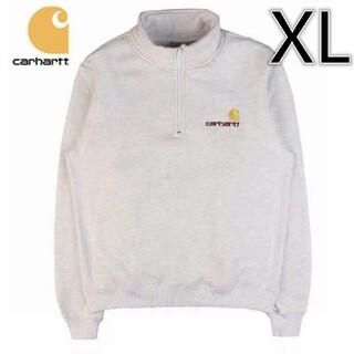 カーハート(carhartt)の【新品】carhart タグ付き カーハート ハーフジップ プルオーバー XL(スウェット)