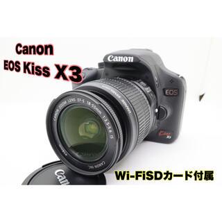 Canon - ❤️Wi-FiSD付属❤️ Canon EOS Kiss X3 レンズセット